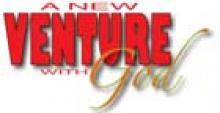 a new venture with God Logo - Graphic Design by Diane Roblin-Lee