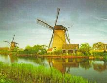 Dutch Windmills Original image by Diane Roblin-Lee